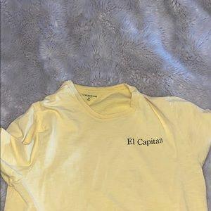 El Capitan J Crew t-shirt